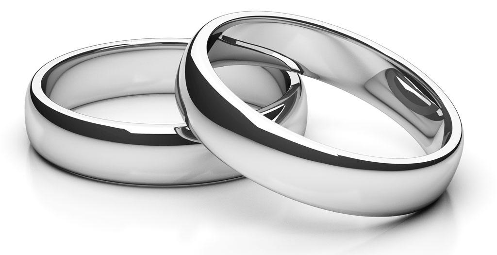 Partnerringe silber matt schlicht  Verlobungs-Ringe und Trau-Ringe aus Gold, Silber, Titan und mit Gravur