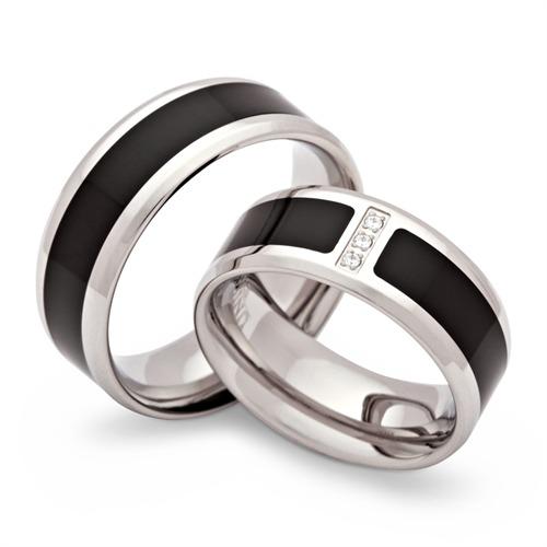 Freundschaftsringe silber schwarz  Juweliere in Speyer | verlobungsringe-trauringe.com