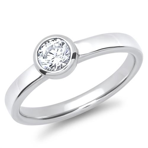 Partnerringe silber mit stein  Besonderer Verlobungsring 925 Silber mit Stein günstig online ...