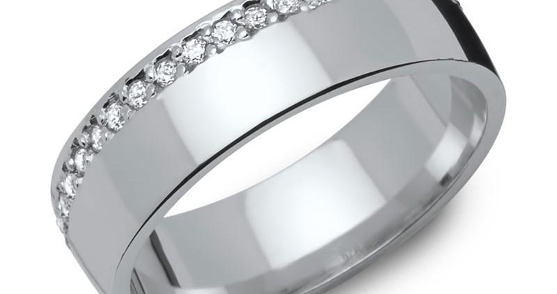 Partnerringe silber matt schlicht  Verlobungsringe Silber auf verlobungsringe-trauringe.com