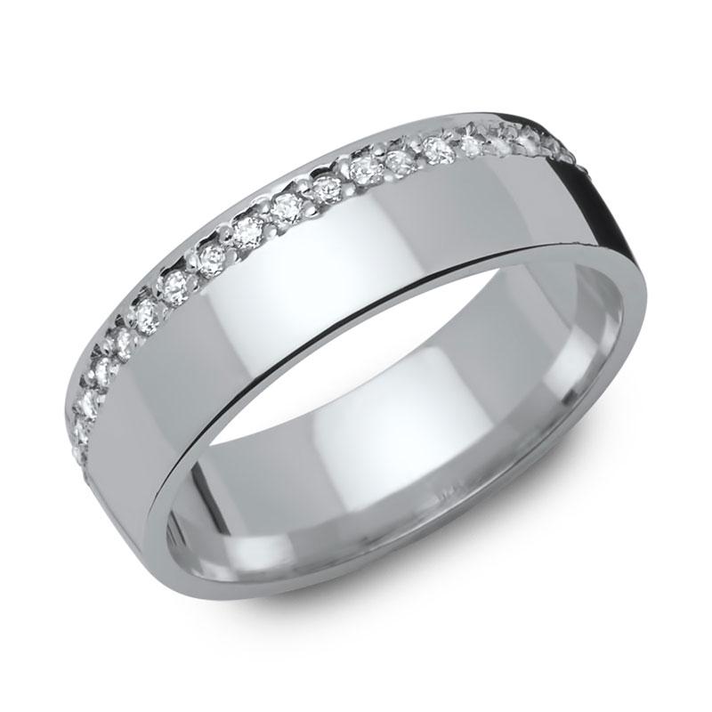 ... / Verlobungsringe Silber, von schlicht, matt bis extravagan