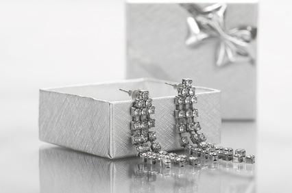 Juwelier Kette Ohrring